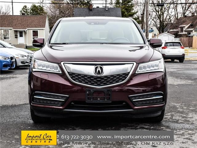 2015 Acura MDX Navigation Package (Stk: 501380) in Ottawa - Image 2 of 30