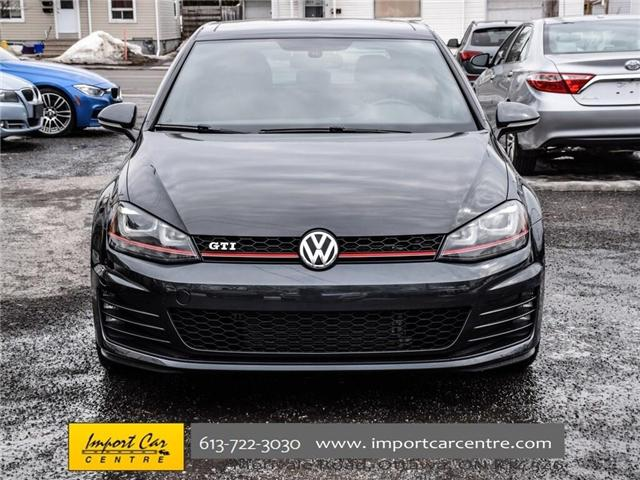 2015 Volkswagen Golf GTI 5-Door Autobahn (Stk: 001778) in Ottawa - Image 2 of 30