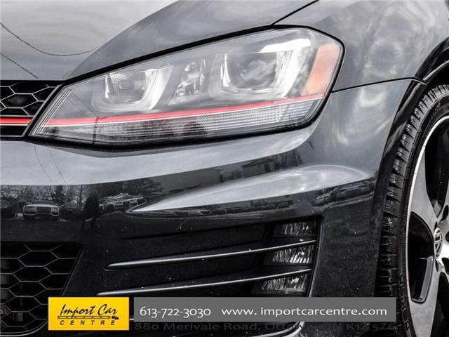2015 Volkswagen Golf GTI 5-Door Autobahn (Stk: 001778) in Ottawa - Image 11 of 30
