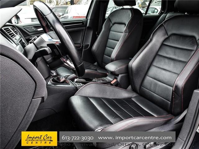 2015 Volkswagen Golf GTI 5-Door Autobahn (Stk: 001778) in Ottawa - Image 15 of 30