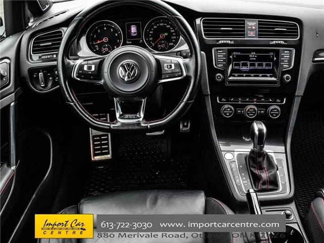 2015 Volkswagen Golf GTI 5-Door Autobahn (Stk: 001778) in Ottawa - Image 17 of 30