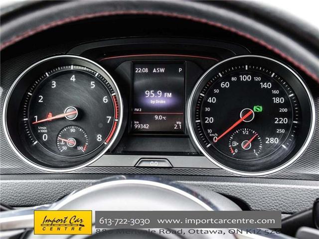2015 Volkswagen Golf GTI 5-Door Autobahn (Stk: 001778) in Ottawa - Image 21 of 30