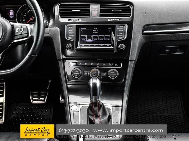 2015 Volkswagen Golf GTI 5-Door Autobahn (Stk: 001778) in Ottawa - Image 24 of 30