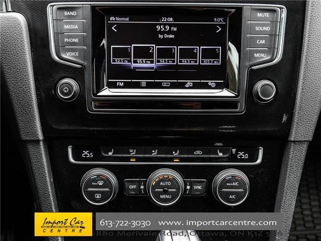 2015 Volkswagen Golf GTI 5-Door Autobahn (Stk: 001778) in Ottawa - Image 25 of 30