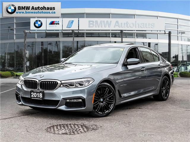 2018 BMW 540i xDrive (Stk: P8914) in Thornhill - Image 1 of 31
