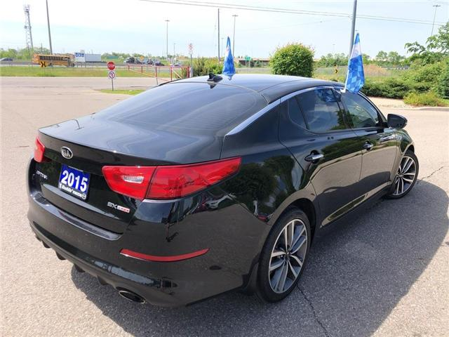 2015 Kia Optima SX Turbo (Stk: P3449) in Oakville - Image 6 of 20