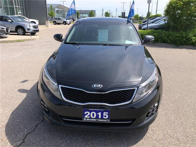 2015 Kia Optima SX Turbo (Stk: P3449) in Oakville - Image 9 of 20