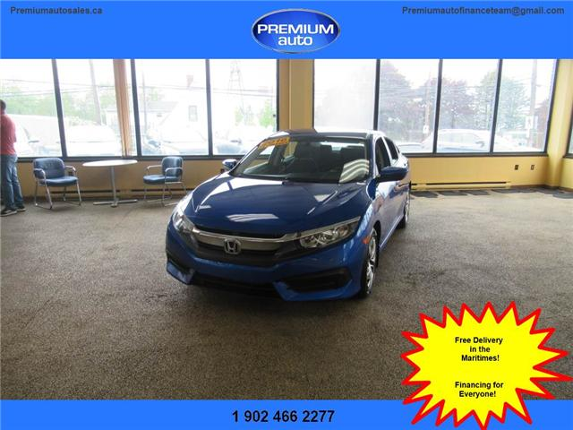 2016 Honda Civic LX (Stk: 027605) in Dartmouth - Image 1 of 22