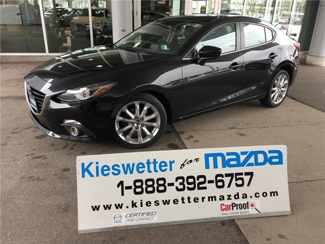 2015 Mazda Mazda3 GT (Stk: U3788) in Kitchener - Image 1 of 30