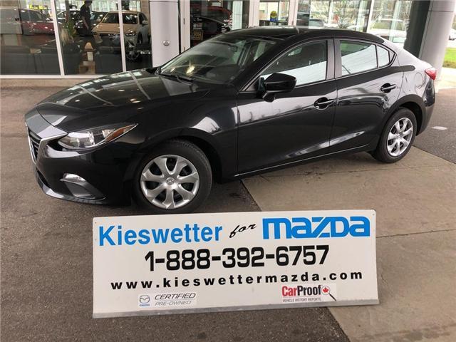 2015 Mazda Mazda3 GX (Stk: U3787) in Kitchener - Image 1 of 25