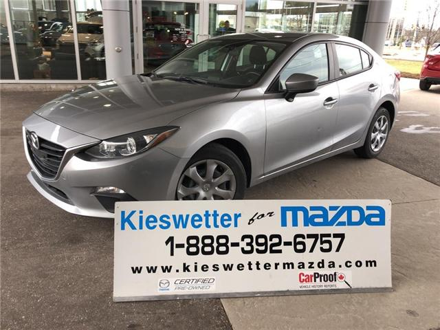 2015 Mazda Mazda3 GX (Stk: U3771) in Kitchener - Image 1 of 26