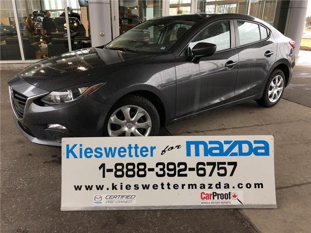 2015 Mazda Mazda3 GX (Stk: U3776) in Kitchener - Image 1 of 22