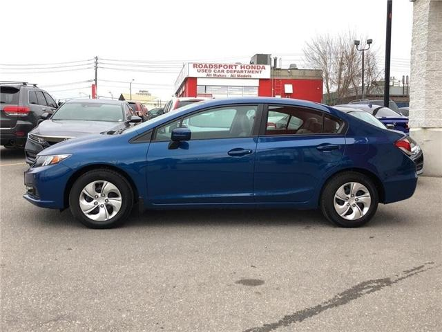 2015 Honda Civic LX (Stk: 57382A) in Scarborough - Image 2 of 21