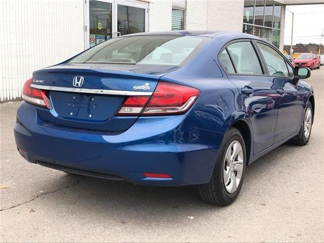 2015 Honda Civic LX (Stk: 57382A) in Scarborough - Image 5 of 21