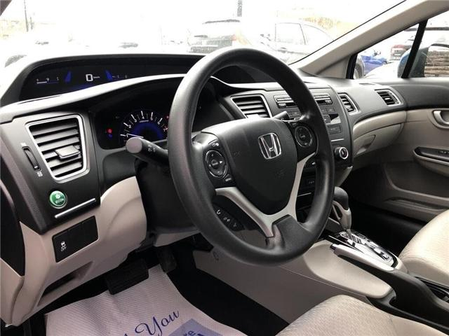 2015 Honda Civic LX (Stk: 57382A) in Scarborough - Image 9 of 21