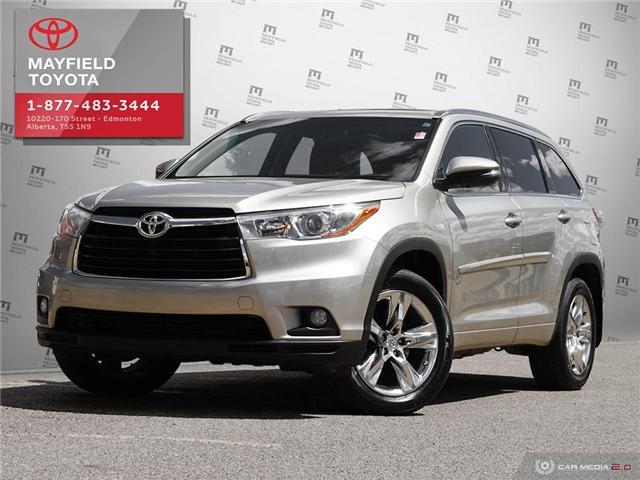 2015 Toyota Highlander Limited (Stk: 1901616A) in Edmonton - Image 1 of 20
