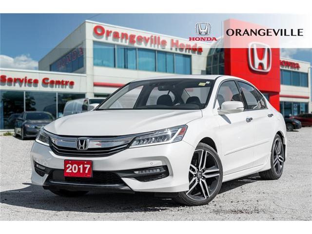 2017 Honda Accord Touring V6 (Stk: C19055A) in Orangeville - Image 1 of 21