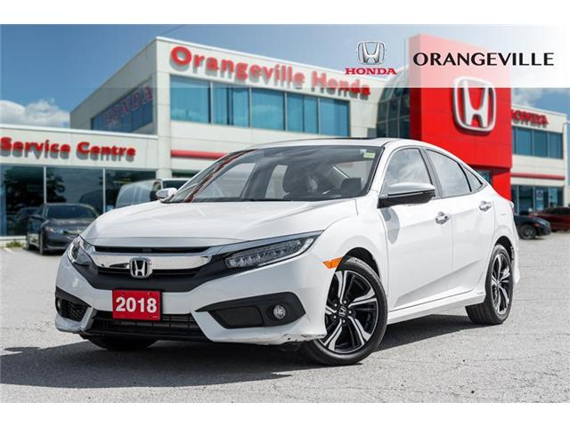 2018 Honda Civic Touring (Stk: F19044A) in Orangeville - Image 1 of 21