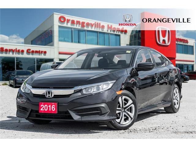 2016 Honda Civic LX (Stk: V19146A) in Orangeville - Image 1 of 19