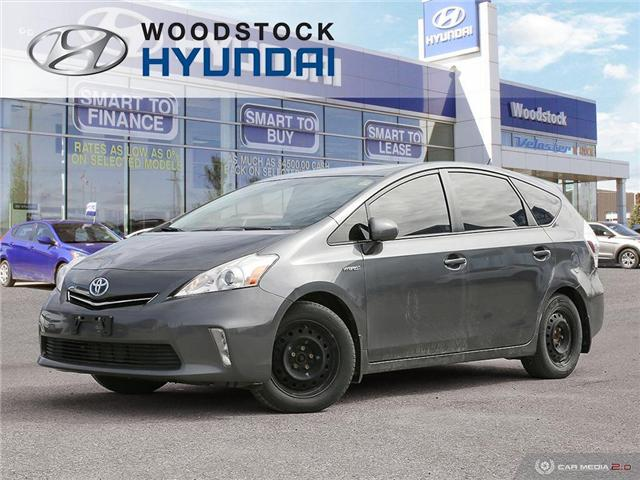 2013 Toyota Prius v Base (Stk: HD18012A) in Woodstock - Image 1 of 27