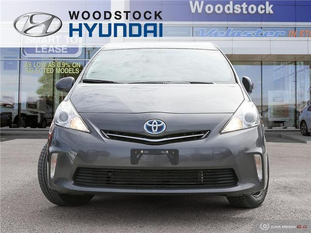 2013 Toyota Prius v Base (Stk: HD18012A) in Woodstock - Image 2 of 27
