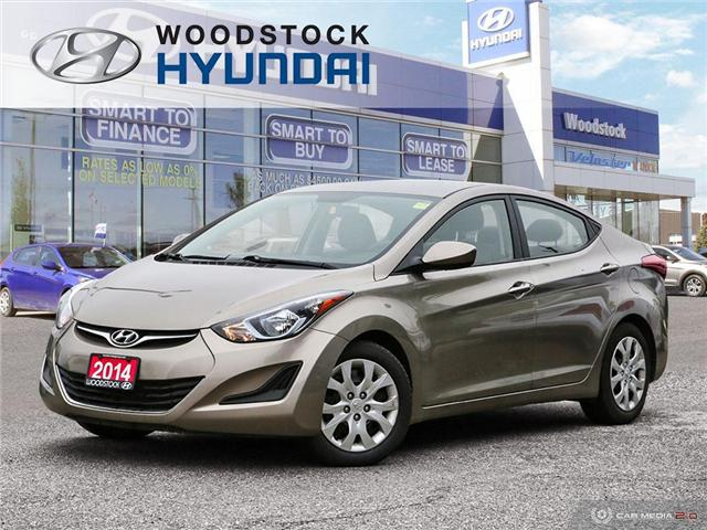 2014 Hyundai Elantra GL (Stk: P1422) in Woodstock - Image 1 of 27