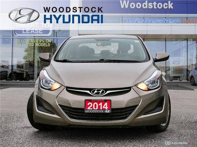 2014 Hyundai Elantra GL (Stk: P1422) in Woodstock - Image 2 of 27