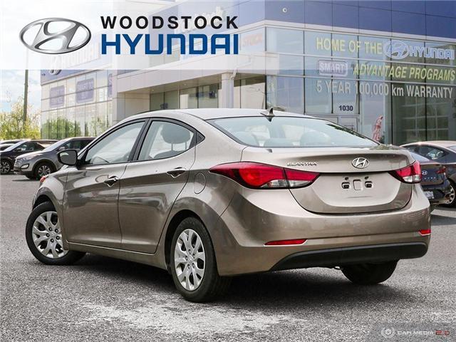 2014 Hyundai Elantra GL (Stk: P1422) in Woodstock - Image 4 of 27