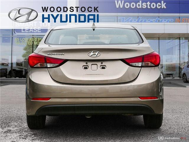 2014 Hyundai Elantra GL (Stk: P1422) in Woodstock - Image 5 of 27