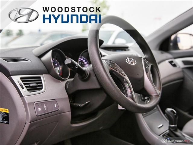2014 Hyundai Elantra GL (Stk: P1422) in Woodstock - Image 6 of 27