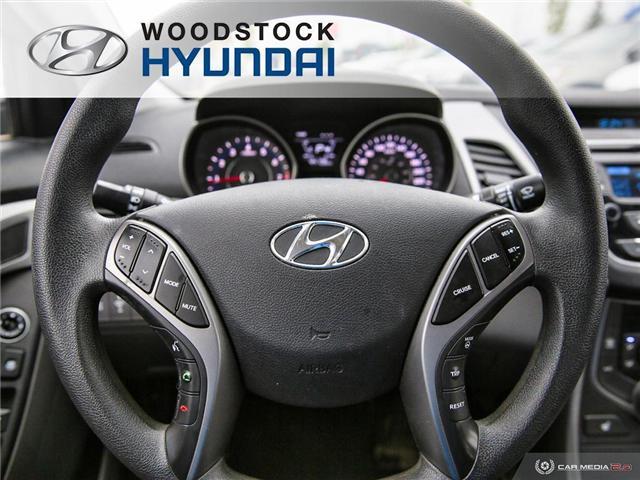 2014 Hyundai Elantra GL (Stk: P1422) in Woodstock - Image 7 of 27