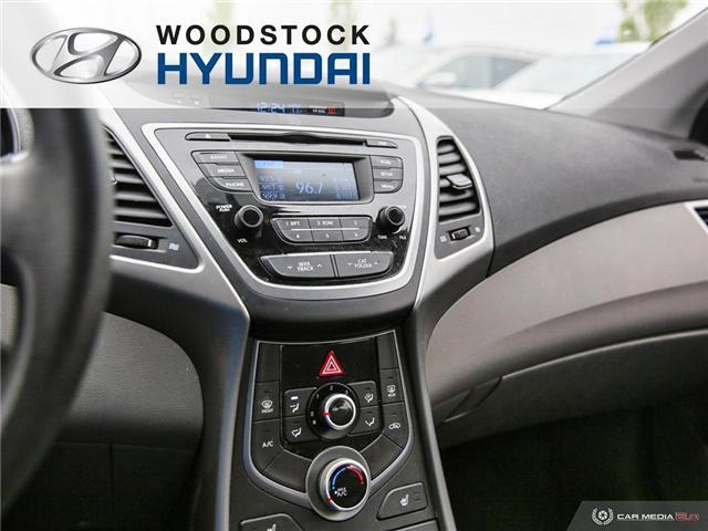 2014 Hyundai Elantra GL (Stk: P1422) in Woodstock - Image 13 of 27
