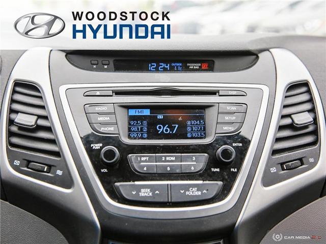 2014 Hyundai Elantra GL (Stk: P1422) in Woodstock - Image 14 of 27