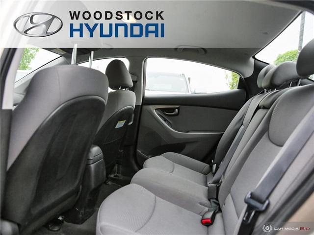 2014 Hyundai Elantra GL (Stk: P1422) in Woodstock - Image 17 of 27