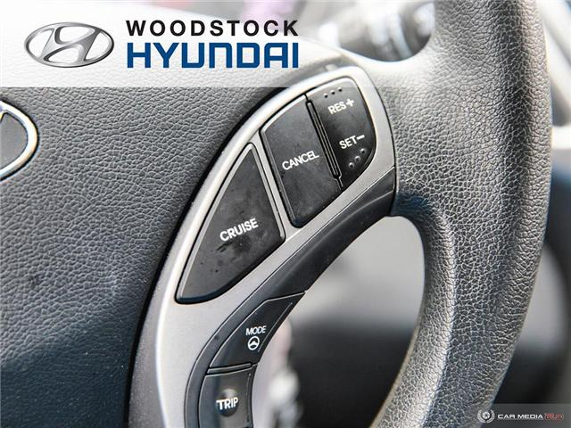 2014 Hyundai Elantra GL (Stk: P1422) in Woodstock - Image 19 of 27