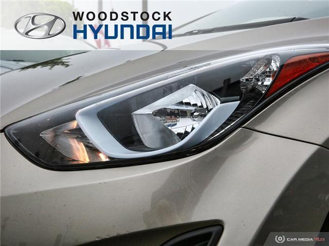 2014 Hyundai Elantra GL (Stk: P1422) in Woodstock - Image 25 of 27
