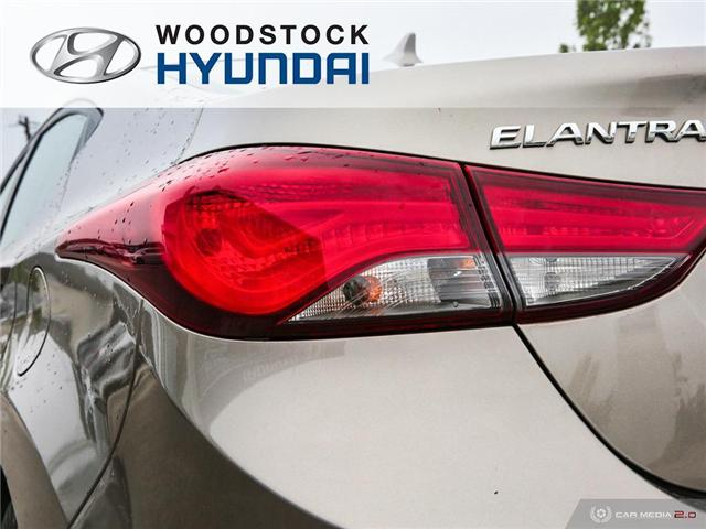2014 Hyundai Elantra GL (Stk: P1422) in Woodstock - Image 27 of 27