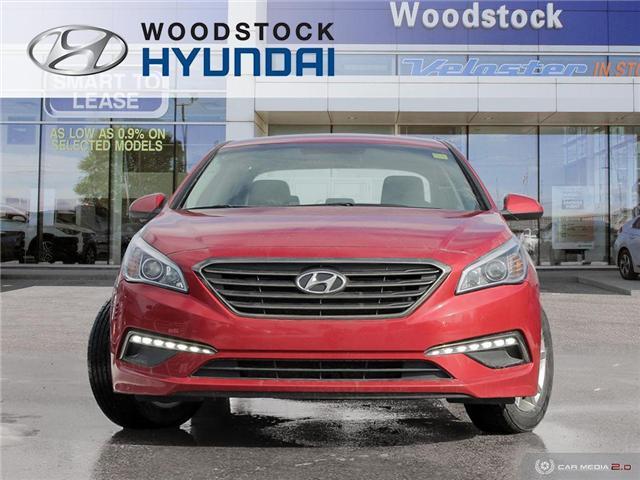 2017 Hyundai Sonata GL (Stk: P1357) in Woodstock - Image 2 of 27