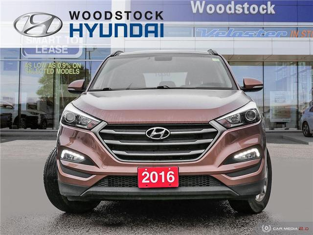 2016 Hyundai Tucson Luxury (Stk: P1416) in Woodstock - Image 2 of 27
