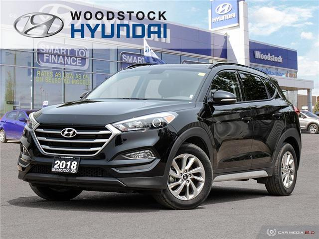 2018 Hyundai Tucson SE 2.0L (Stk: P1411) in Woodstock - Image 1 of 27