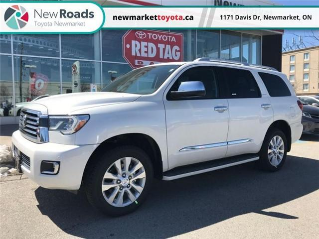 2018 Toyota Sequoia Platinum 5.7L V8 (Stk: 33027) in Newmarket - Image 1 of 22