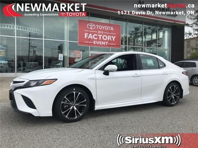 2019 Toyota Camry Hybrid SE (Stk: 34106) in Newmarket - Image 1 of 18