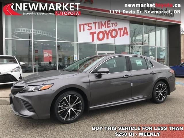 2019 Toyota Camry SE (Stk: 34123) in Newmarket - Image 1 of 18