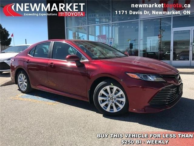 2019 Toyota Camry LE (Stk: 34151) in Newmarket - Image 1 of 17