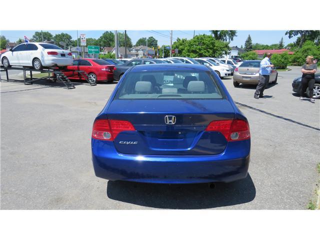2007 Honda Civic LX (Stk: A121) in Ottawa - Image 4 of 9