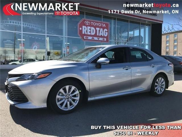 2019 Toyota Camry LE (Stk: 34160) in Newmarket - Image 1 of 17