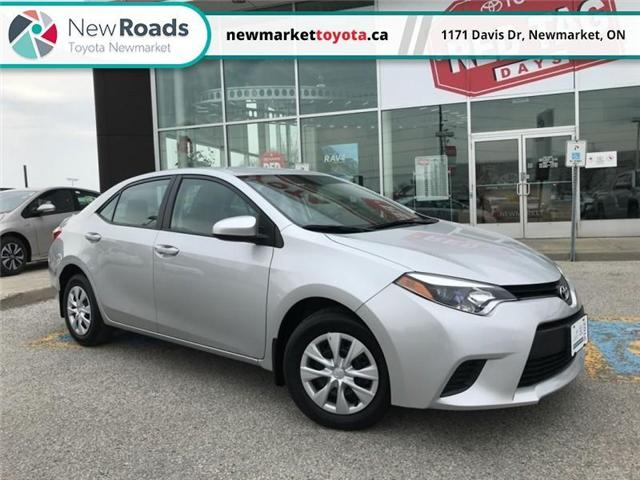 2016 Toyota Corolla CE (Stk: 340151) in Newmarket - Image 1 of 16