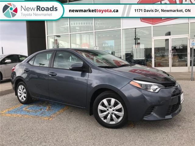 2015 Toyota Corolla LE (Stk: 339201) in Newmarket - Image 1 of 16