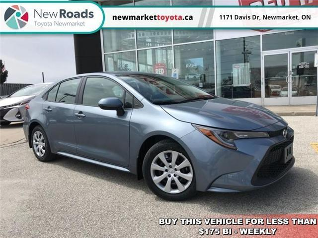 2020 Toyota Corolla LE (Stk: 34318) in Newmarket - Image 1 of 17