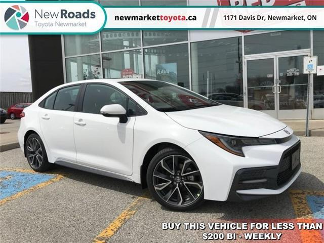 2020 Toyota Corolla SE (Stk: 34387) in Newmarket - Image 1 of 18